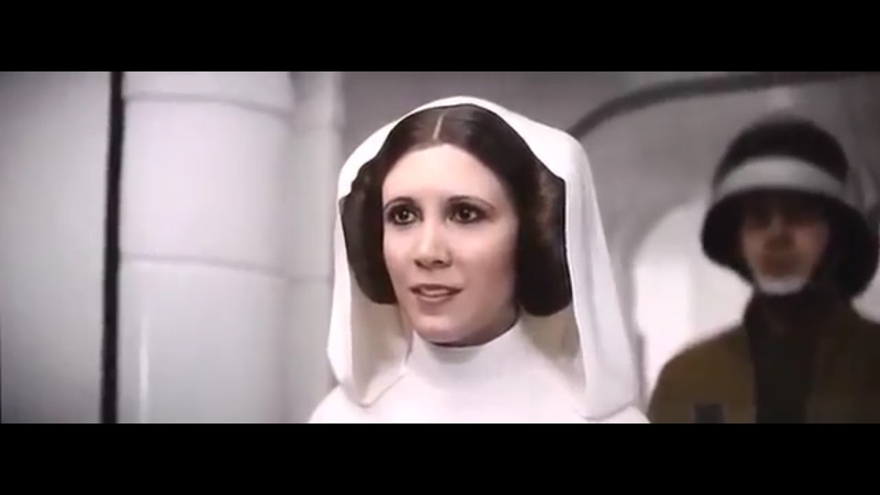 rogue ending with Princess Leia Organa