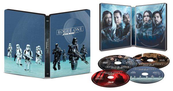 Rogue One Blu-Ray Steelbook