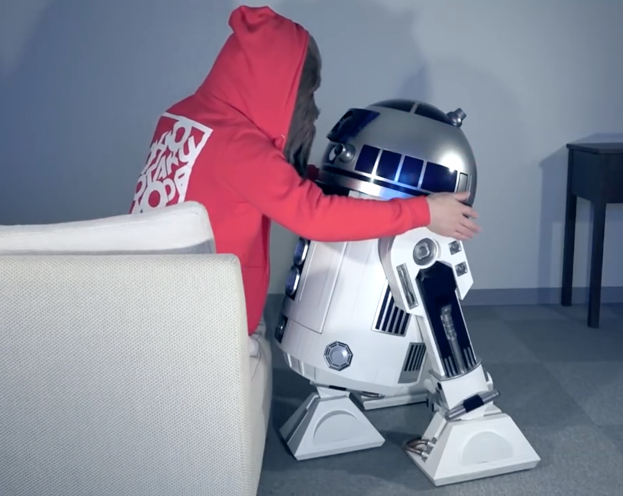 Life-sized R2-D2
