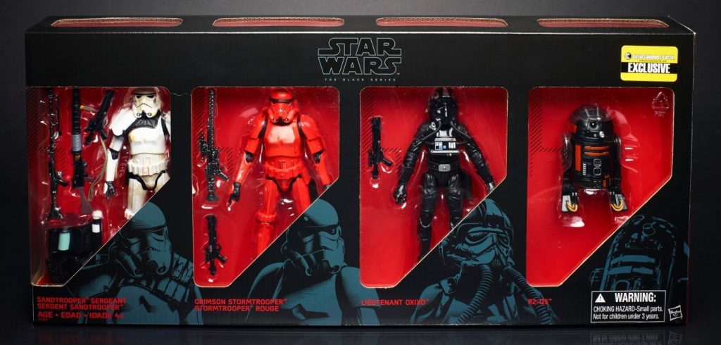 Star Wars Black Series Imperial Forces 6 inch Exclusive Set