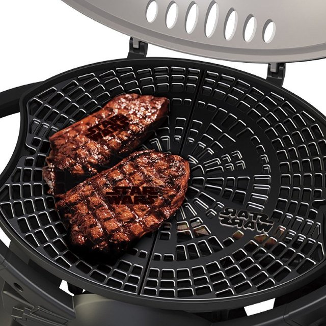 TIE Fighter Grill with Steaks