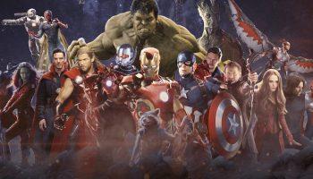 Avengers Infinity War Heroes Collage