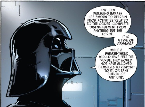 Darth Vader Explains Barash Vow