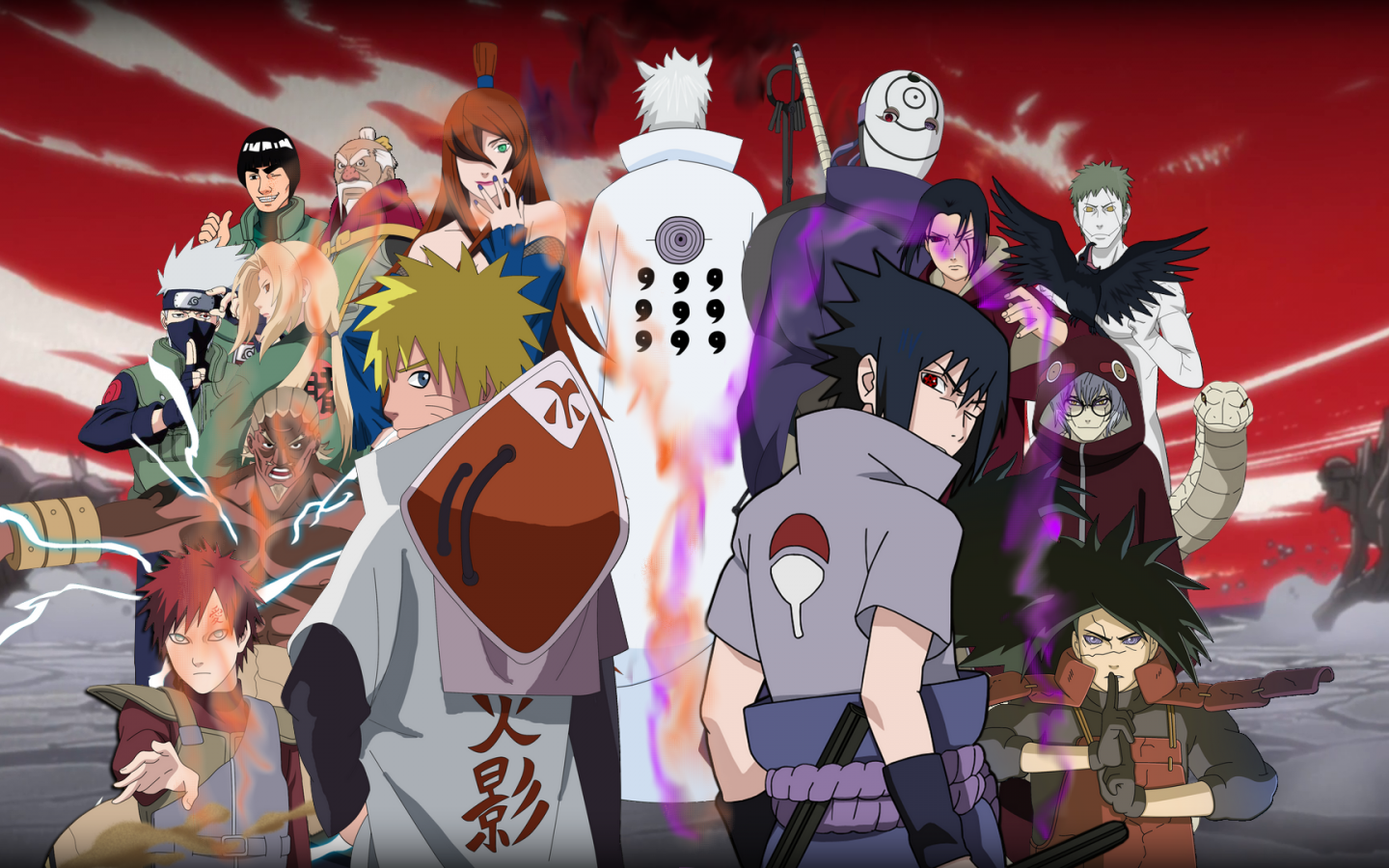 naruto shippuden opening and ending