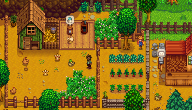 stardew valley farming and fishing