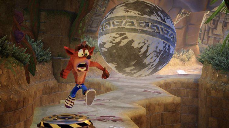 Crash Bandicoot N Sane Trilogy Gameplay