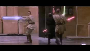 Someone Replaced Lightsaber Clashing with Owen Wilson Wow
