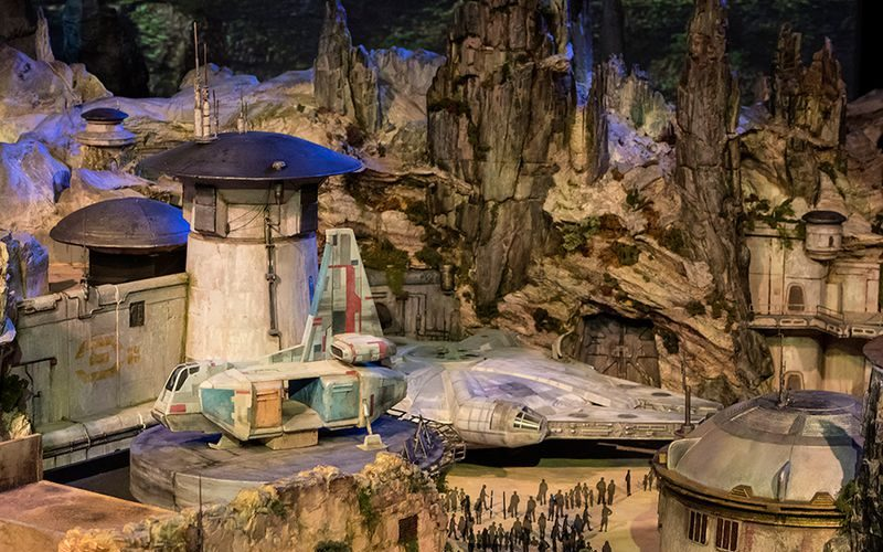 Star Wars Inspired Land Model