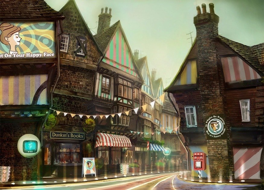 Village within We Happy Few