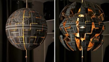 How To Make An Exploding Death Star Lamp