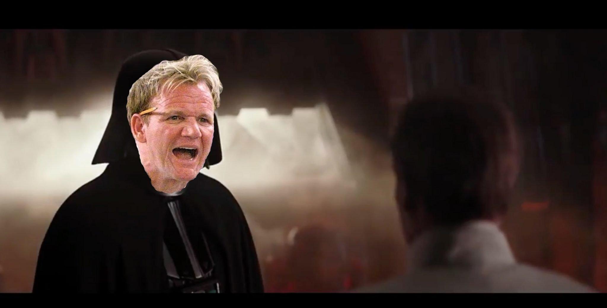 Gordon Ramsay Darth Vader