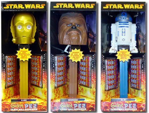 Star Wars Giant PEZ 2005