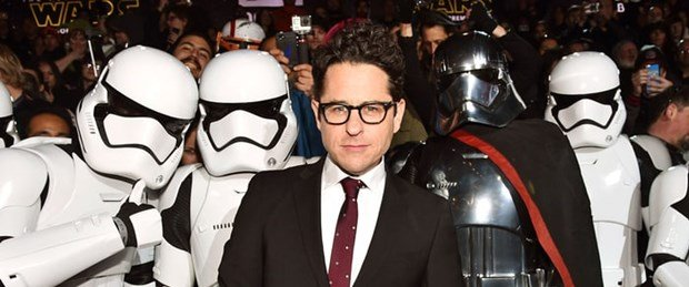 abrams with The Force Awakens First Order Troopers