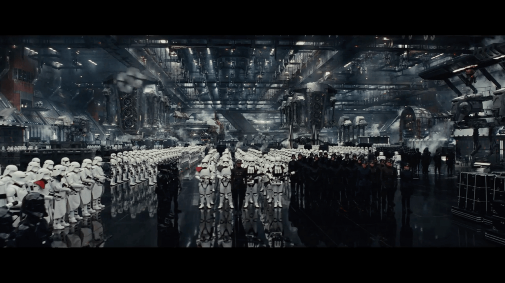 Imperial Forces from Star Wars The Last Jedi Trailer 2