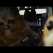 chewbacca with porg friend