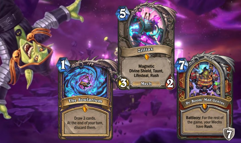 safest legendaries cards to craft in boomsday expansion