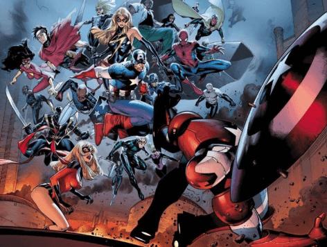 Dark Siege Avengers