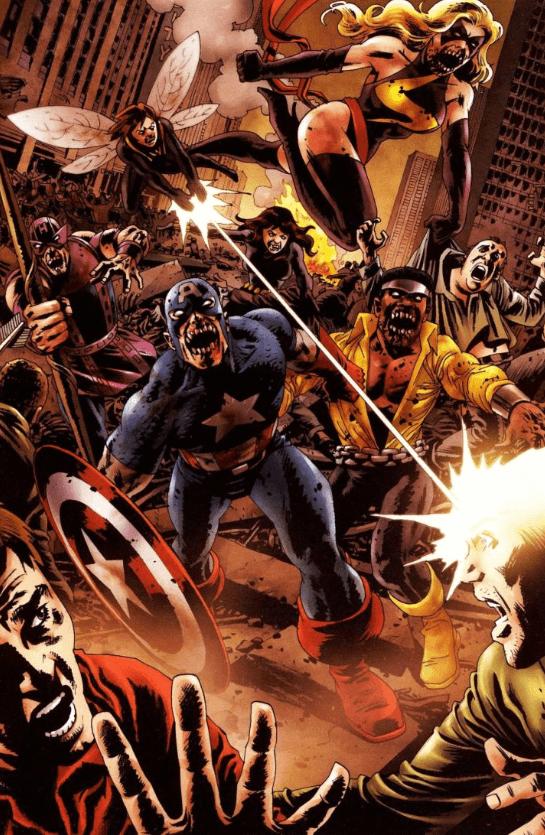 Zombie Avengers